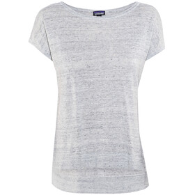 Patagonia Lightweight Linen - T-shirt manches courtes Femme - gris